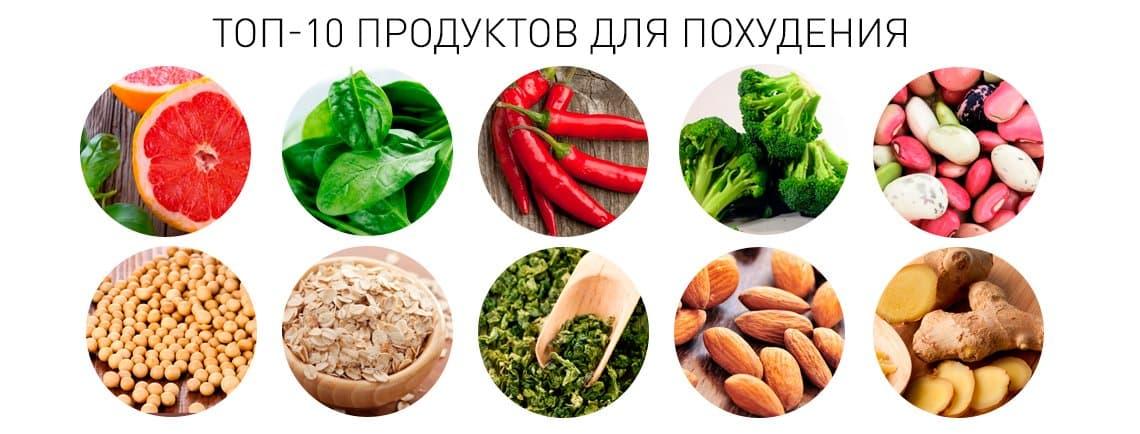Какие продукты помогают хорошо похудеть