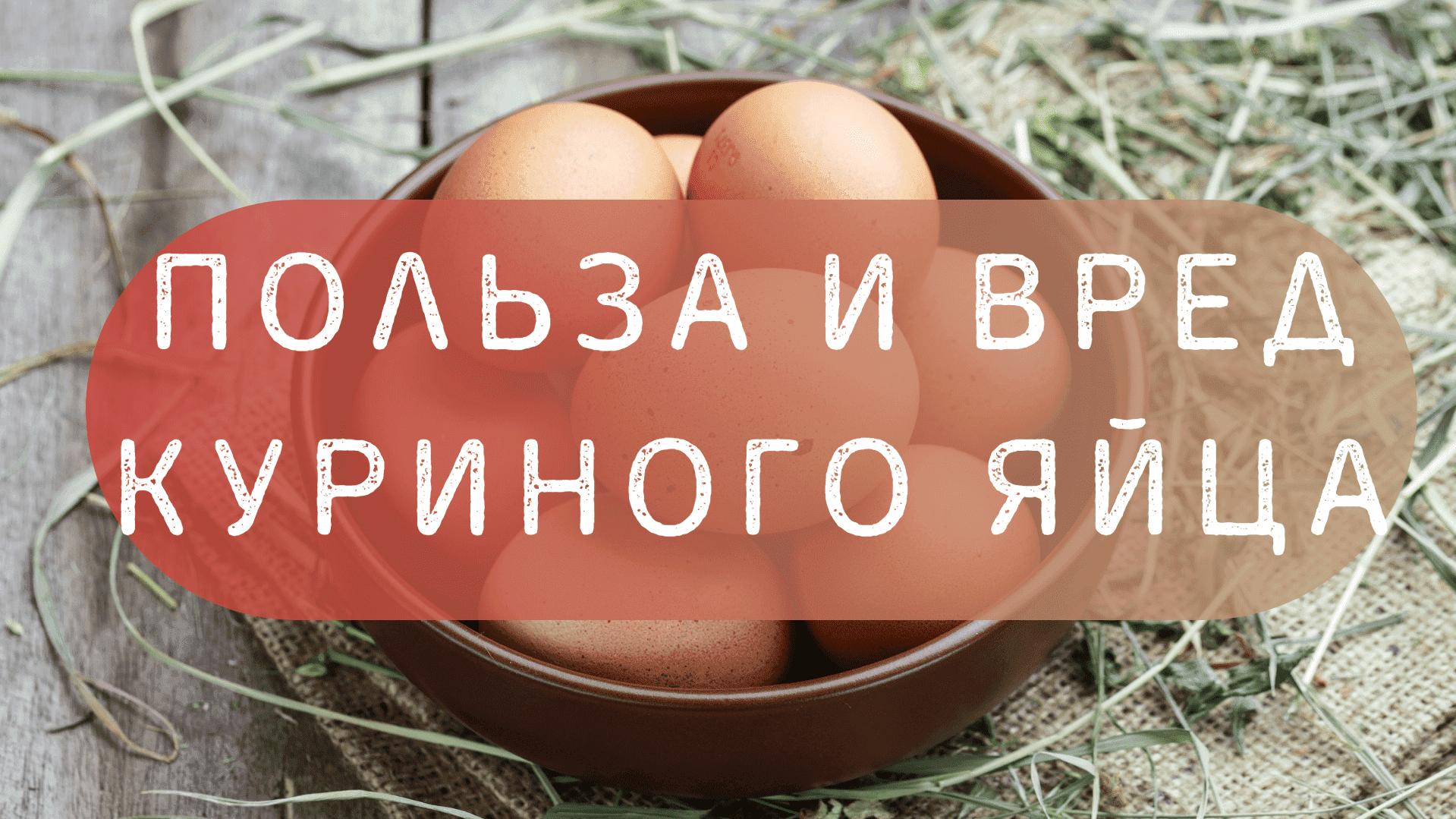 Польза и вред куриных яиц: калорийность и вес