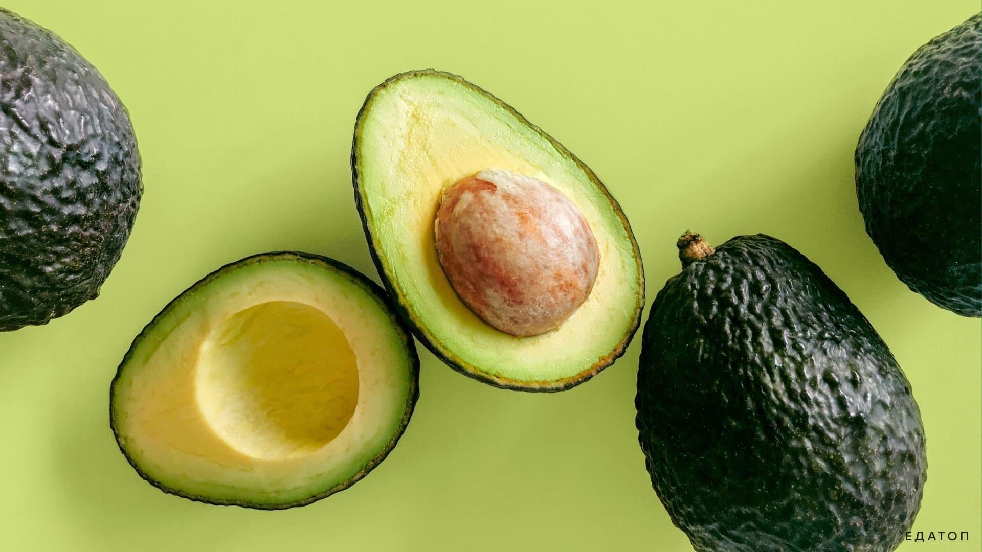 Авокадо - идеальный фрукт для кетодиеты.