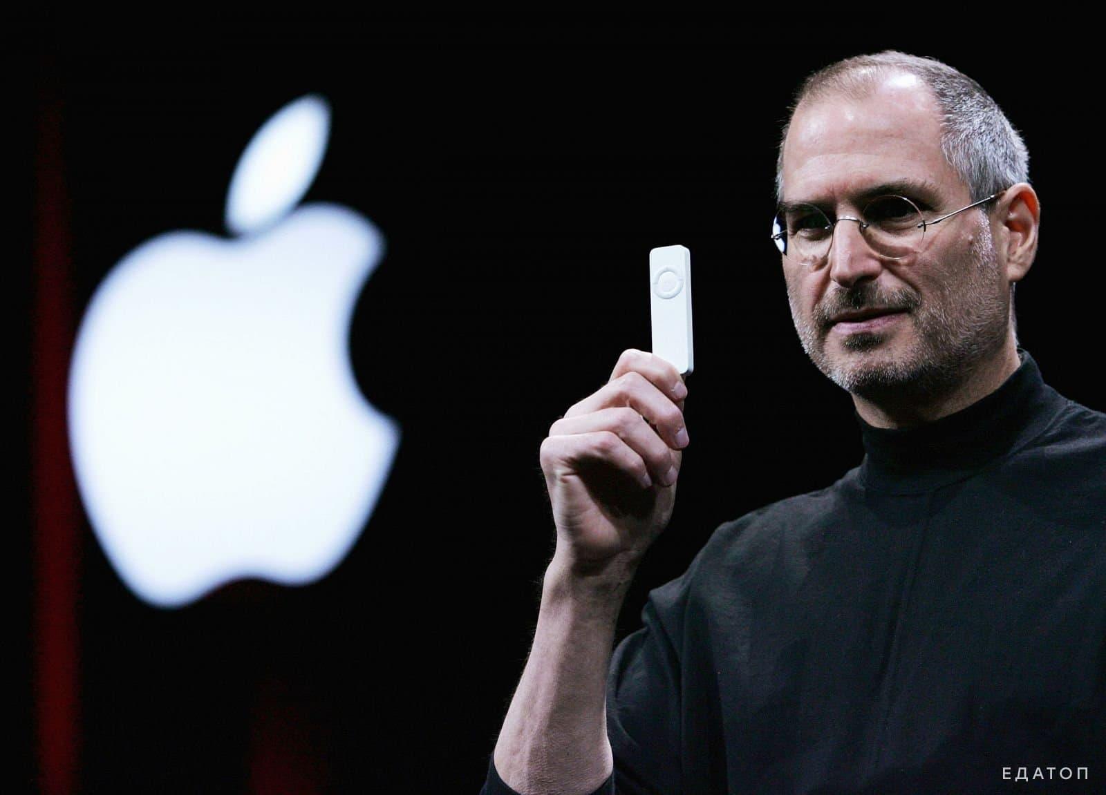 Стив Джоб, основатель компании Apple, был фрукторианцем.