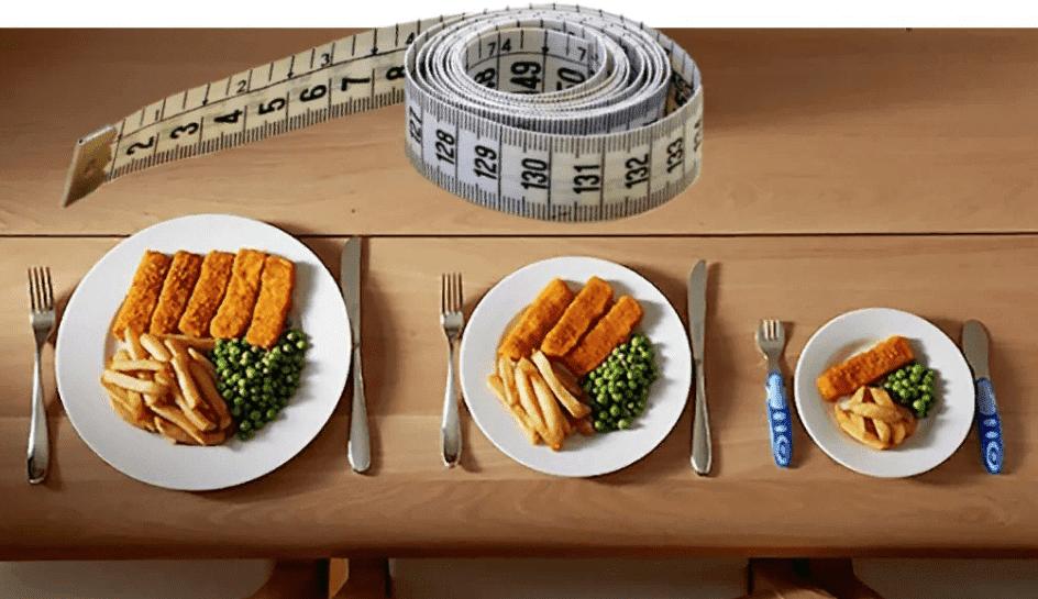 Чем быстрее ваши порции уменьшатся, тем быстрее станут меньше ваши пропорции.