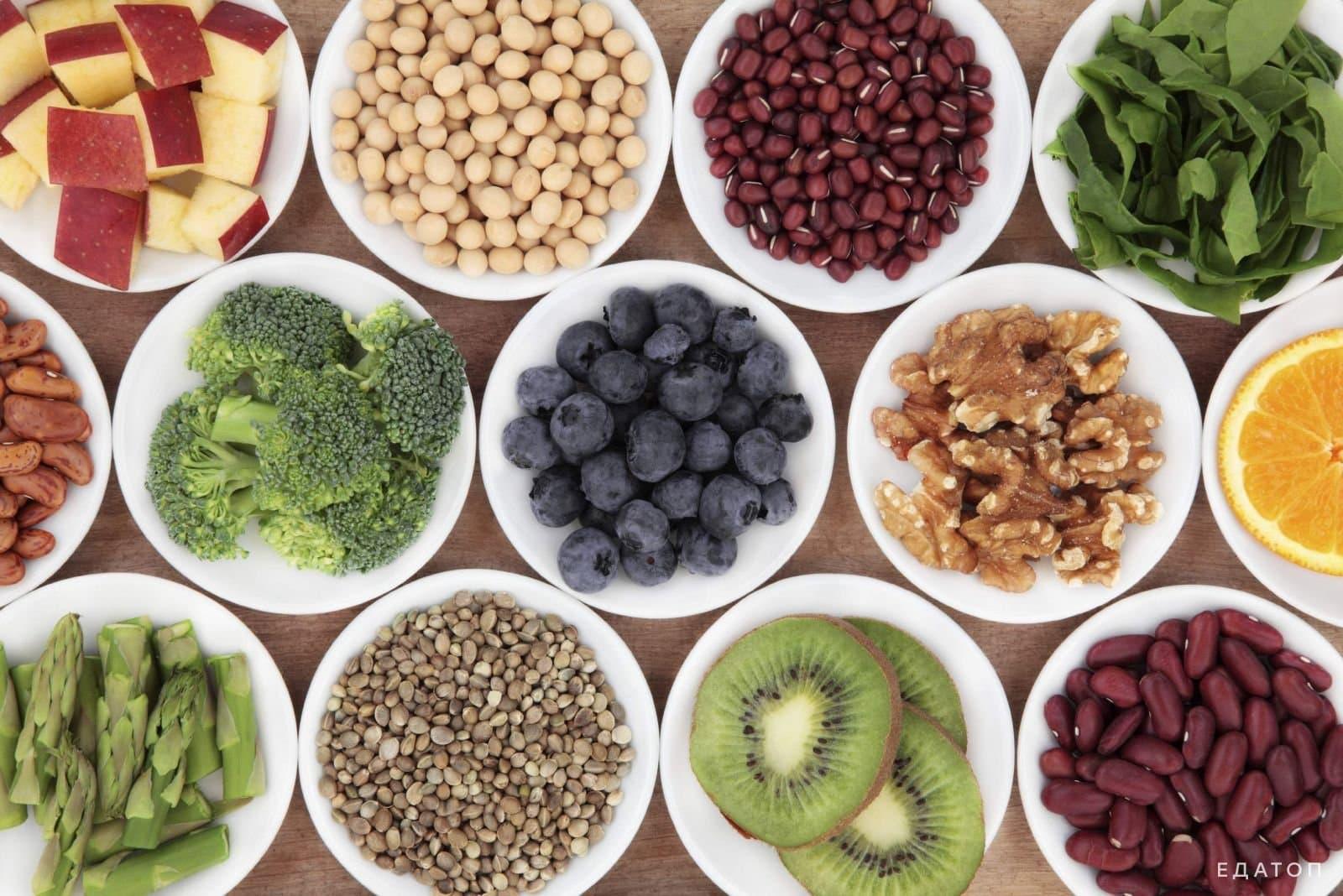 Включить в свой рацион продукты с большим содержанием клетчатки.