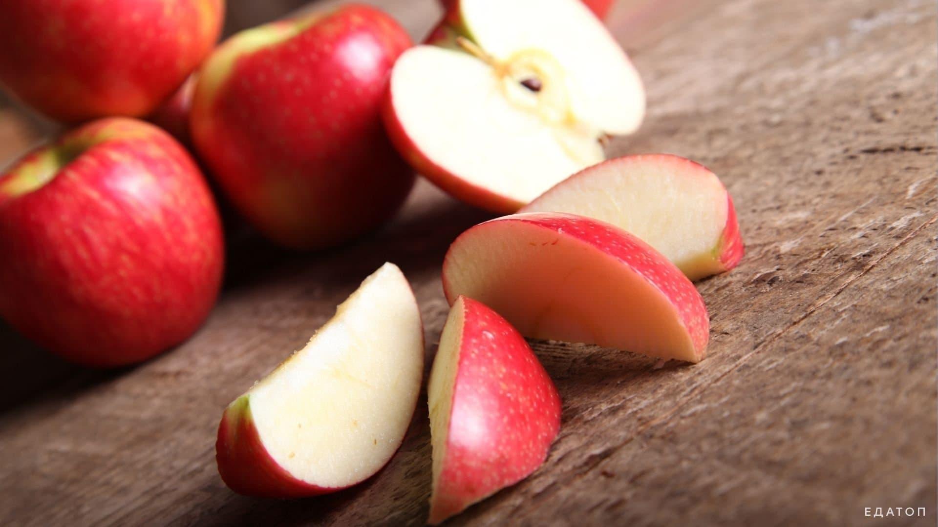 Яблочная диета помогает быстро похудеть.