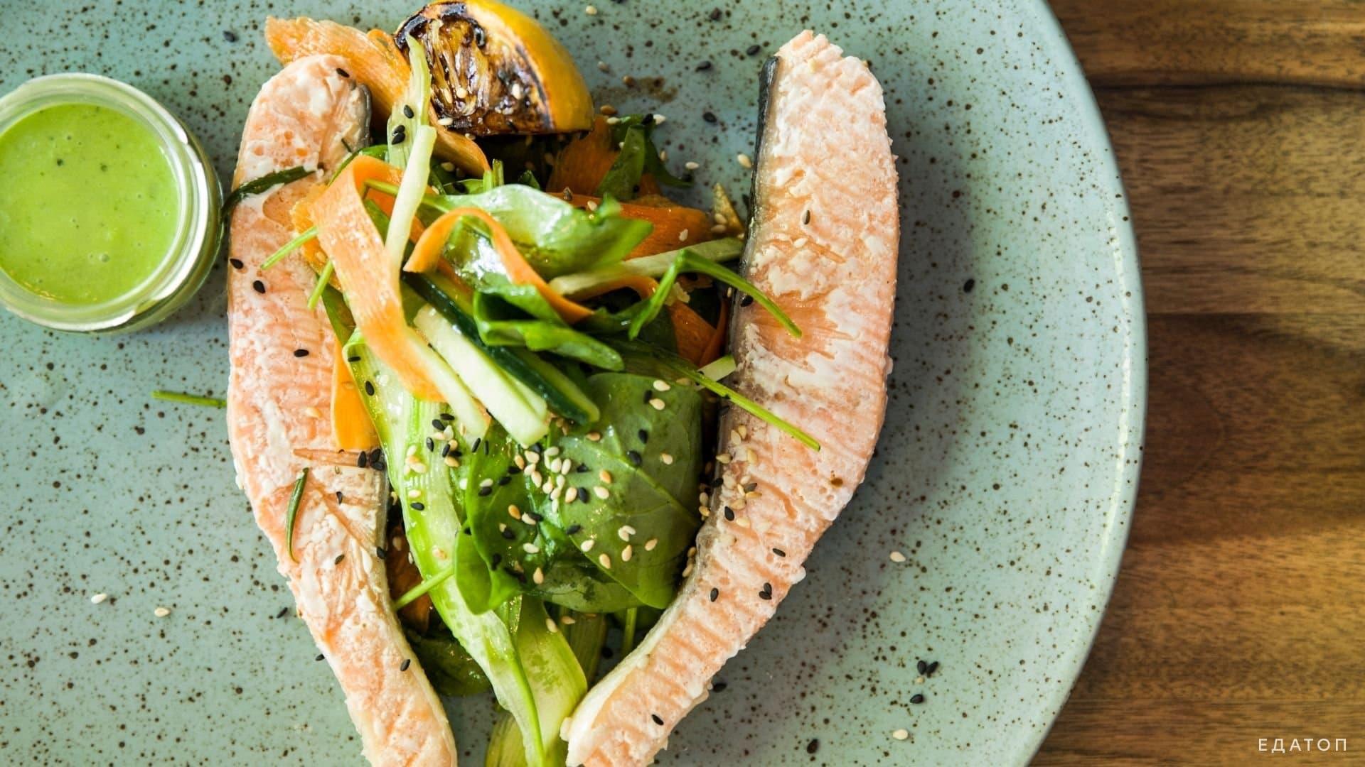 В рыбе, приготовленной на пару сохраняется больше витаминов.