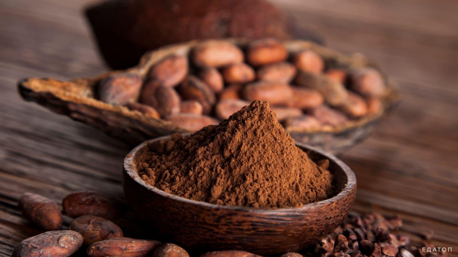 Допускается употребление натурального какао.