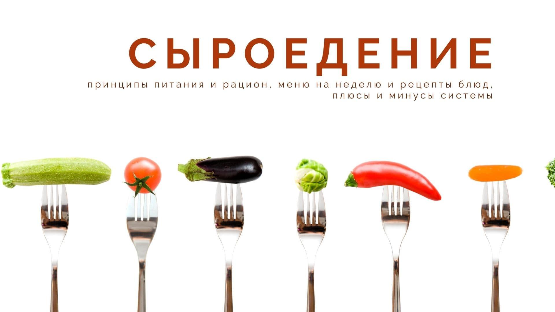 Сыроедение в пост: что едят, принципы питания и рацион, меню на неделю и рецепты блюд, плюсы и минусы системы